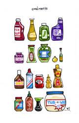 Condiments by RandomCushing