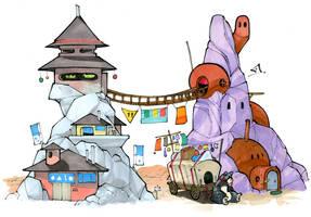 Outpost by RandomCushing