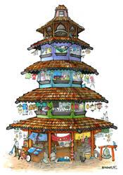 The Belltower by RandomCushing