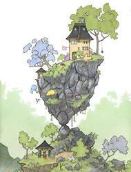 Tiny House Balance Pose by RandomCushing