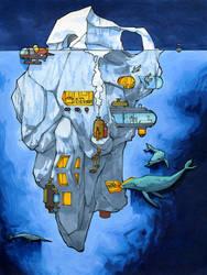 Iceberg Tiny House by RandomCushing