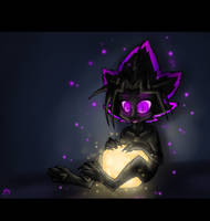 EnderYami and Glowstone by CoffeeAddictedDragon