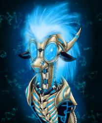 Cerebral Bot Starfyre by CoffeeAddictedDragon