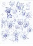 TEOIC: EnderYami face expression study by CoffeeAddictedDragon