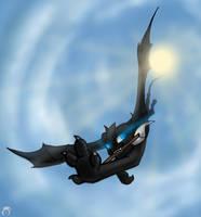 Racing skies by CoffeeAddictedDragon