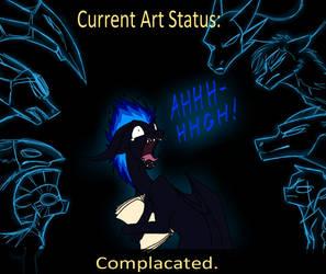 Art status by CoffeeAddictedDragon