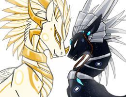 Deities of Dragons by CoffeeAddictedDragon
