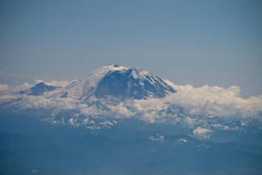 Mt. Rainier by Silver-Dew-Drop
