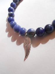 archangel zadkiel bracelet by starsinmyteacup