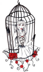 when they wander into their cage by starsinmyteacup