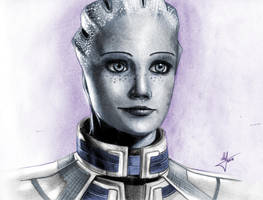 Liara T'Soni by AndWhatArt
