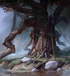 Green Oak by AndWhatArt