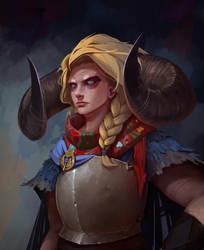 Jodariel by AndWhatArt