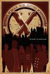 'X-Men: First Class' Poster - 'Witness' by KirkDunne