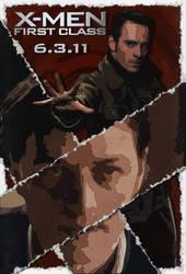 'X-Men: First Class' Poster - 'Torn' by KirkDunne