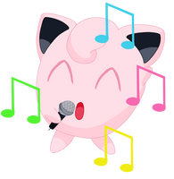 039- Jigglypuff by MacabreHouse