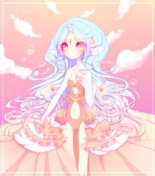 . Goddess . by fawnbun