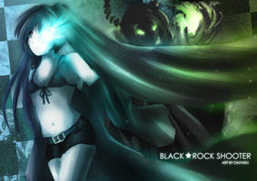 Black Rock Shooter - Darkness by Daiyaku