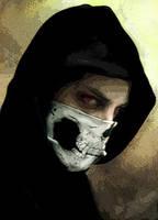 Skull Bandana by Butter-Bot