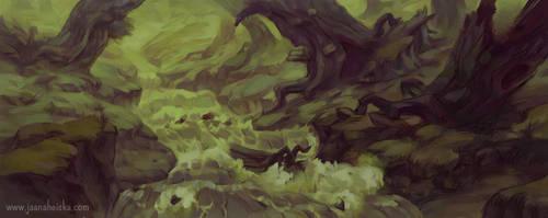 Broken Forest by Suncut