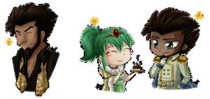 Emoji Meme - Fairy Tail - Arcadios and Hisui by Isi-Daddy