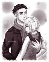 CM - Otabek x Yurio by Isi-Daddy