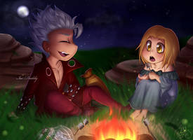 Banlaine Week - Day 7 - Adventure by Isi-Daddy