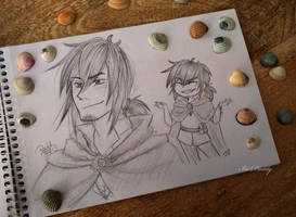 Shells and Sketches by Isi-Daddy