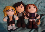 Plushies - Saira and Richard by Isi-Daddy