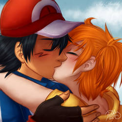 TIC - Ash and Misty by Isi-Daddy