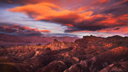 Zabriskie Sunrise by PeterJCoskun