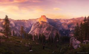 Eyes Over Yosemite by PeterJCoskun