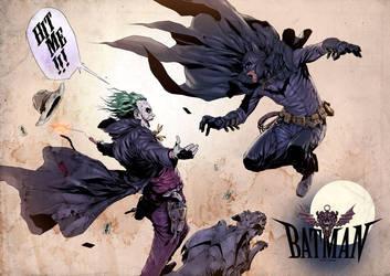 Old West Dark Knight by 2ngaw by artmunki