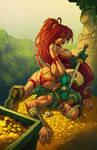 Red-monika-by-randy-green by artmunki