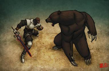 Morien v BEAR by artmunki