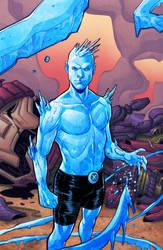 Iceman-lineart-finita by artmunki