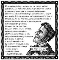 Ralph Waldo Emerson Quote by TheHuntingAccident
