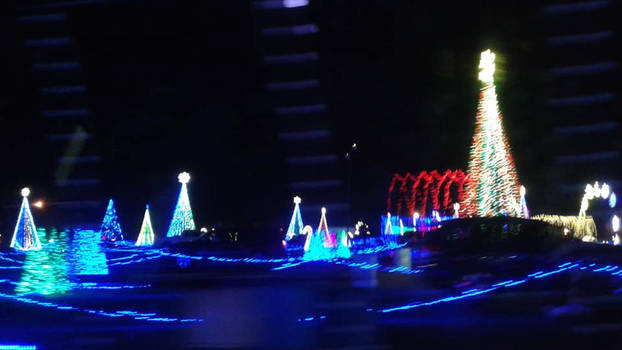Christmas in Color at Water World final pic by mylesterlucky7