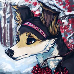 Isavi Dog Icon by IsaviDog