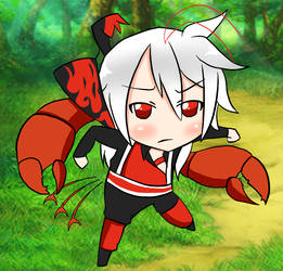 A wild Boston Lobster has appeared by Italy-PastaLove