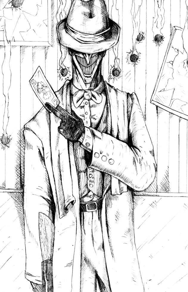 Joker As A Gangster By Petex On Deviantart