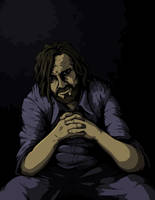 Charles Manson by petex