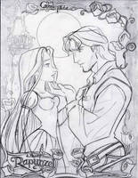 Tangled-Draft II by Carlks
