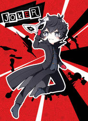 Persona5: Joker by Ezkai
