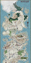 Map of Westeros -- Commission by stratomunchkin