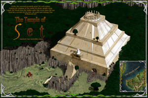The Temple of Set (Conan) by stratomunchkin