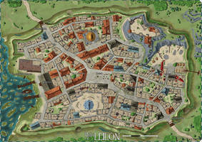 Forgotten Realms: The Ruins of Leilon by stratomunchkin