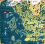 Forgotten Realms: The Sword Coast by stratomunchkin