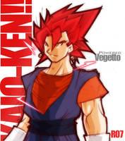 Powered Vegetto by Rukunetsu