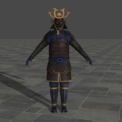 47 Samurai outfit - Hitman Absolution by TheForgottenSaint47